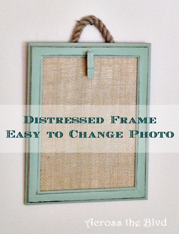 Easy to Change Photo Frames