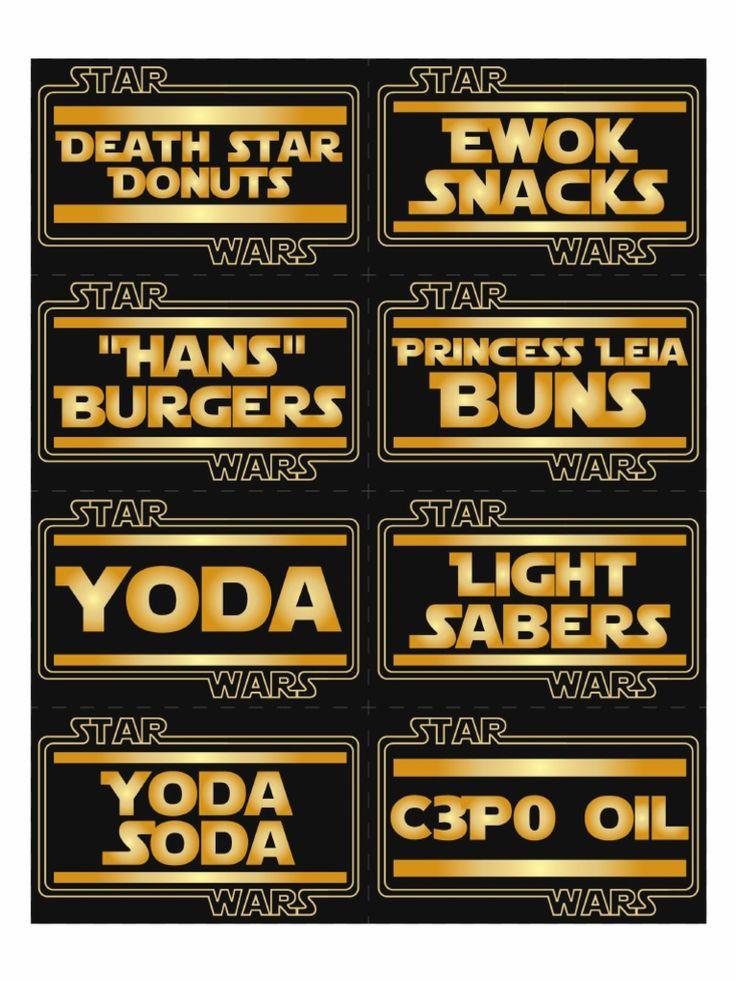 free star wars printable - Google Search