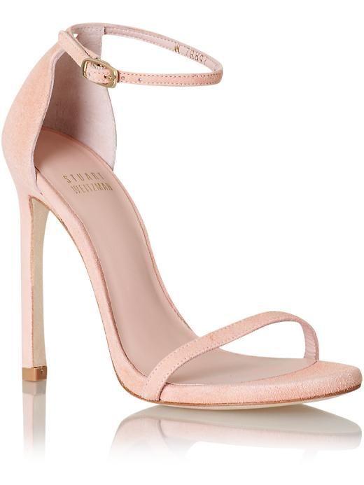 Blush sandals, latest shoes trends.