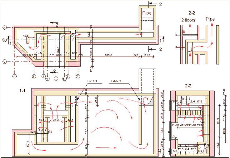 Masonry heater sample Plan