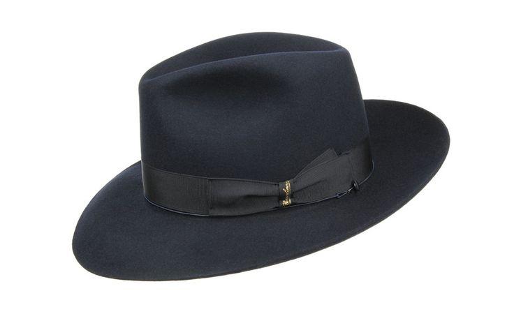 Borsalino chapeau noir fedora