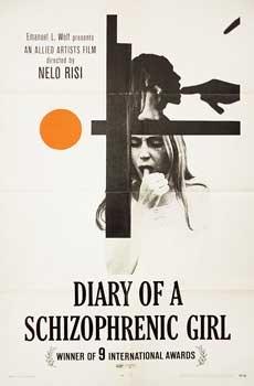 Posteritati: DIARY OF A SCHIZOPHRENIC GIRL (Diario di una schizofrenica) 1970 U.S. 1 sheet (27x41)