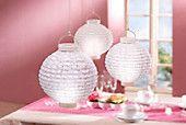 LED Lampions für dekorative Treppenbeleuchtung?