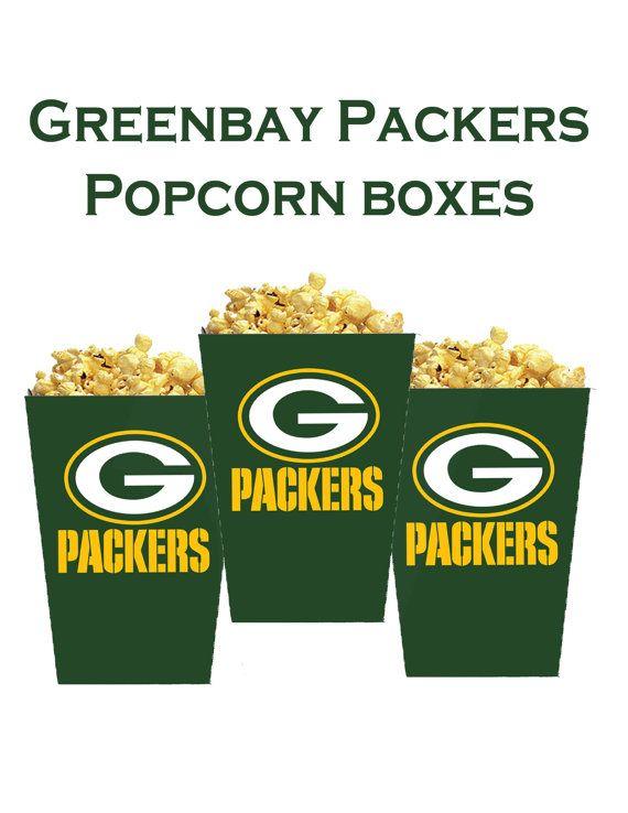 NFL Green Bay Packers Instant download popcorn by DecorAtYourDoor