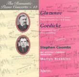 Glazunov: Piano Concertos Nos. 1 & 2; Goedicke: Concertstück, Op. 11 [CD], 02809731