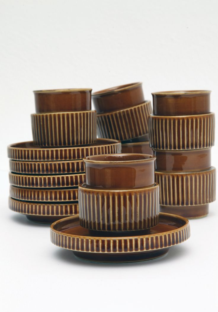 Serwis kawowy, Tognana Komplet sześciu filiżanek do espresso ze spodeczkami…