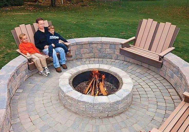 Why You Should Build An Outdoor Firepit Feuerstelle Garten Feuerstellen Fur Die Terrasse Feuerstellen Sitz