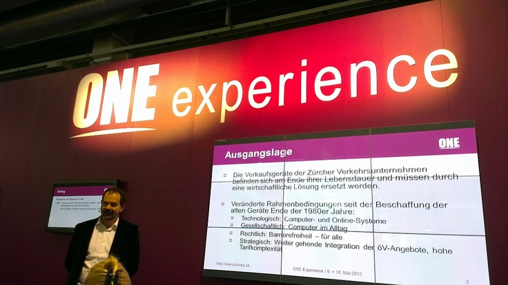 vbz tweet pin - one experience for zeix