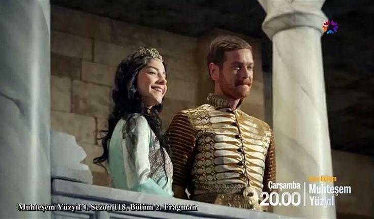 Muhteşem Yüzyıl 118.Bölüm 2.Fragman ;  http://www.startv.com.tr/dizi/muhtesemyuzyil/fragmanlar/sayfa/1/muhtesem-yuzyil-118-bolum-2-fragmani Şehzade Selim (Engin Öztürk), Nurbanu Sultan (Merve Boluğur)