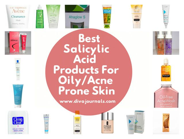 Best Salicylic Acid Products for Oily/Acne Prone Skin
