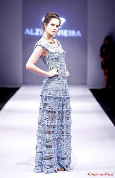 Он-лайн платье Мануэла от Alzira Vieira