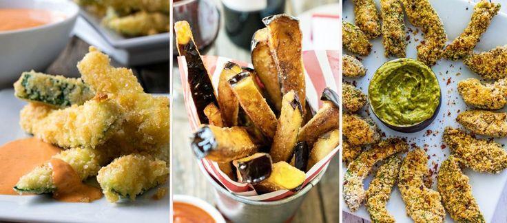 Gesunde Fritten, die gut schmecken und ganz fix gemacht sind, gibt's nicht? Oh doch! Wir zeigen euch, wie ihr die knusprigen Gemüse-Pommes Zuhause serviert...