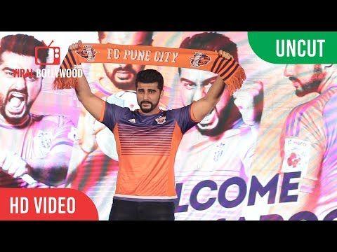 Arjun Kapoor New Brand Ambassador & New Co-Owner Of ISL Team FC Pune City