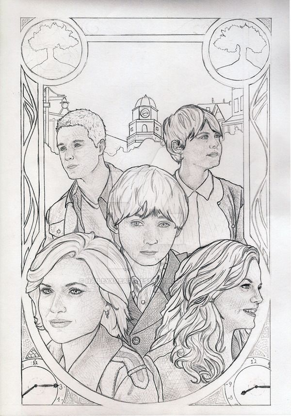 Once Upon A Time Wip By Haileyxheartless Coloring Pages Art