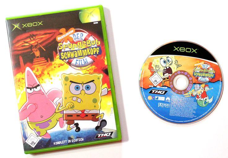 Microsoft Xbox Der SpongeBob Schwammkopf Film für X-BOX in OVP!