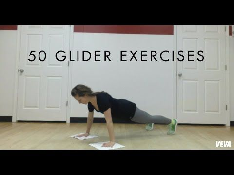 50 Glider Exercises Veva Glider Workout Exercise Strength
