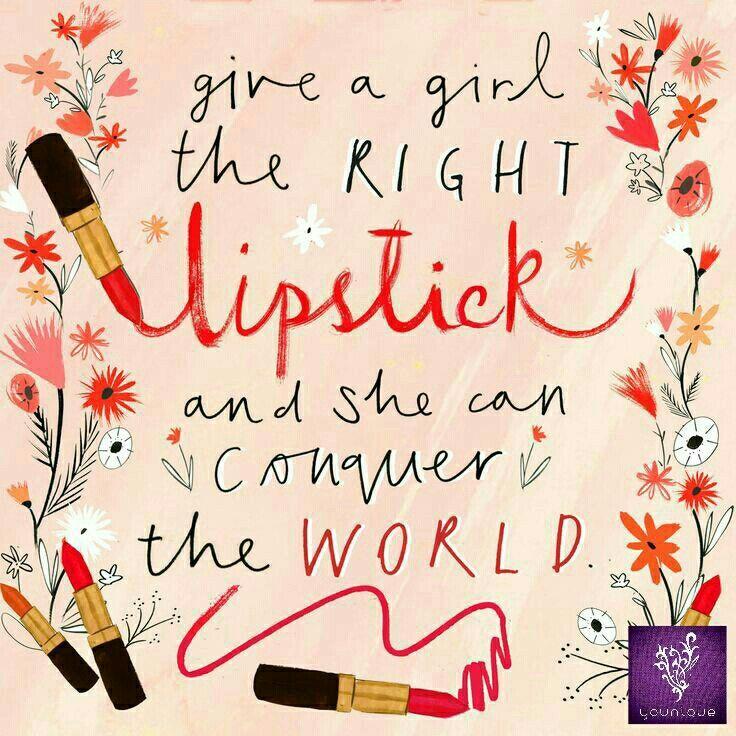Lipstick Quote