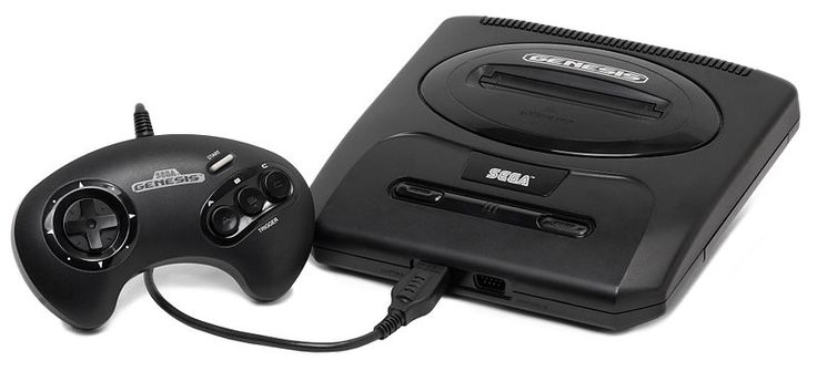 My first console. :*-) Sega Genesis, with its high definition graphics.