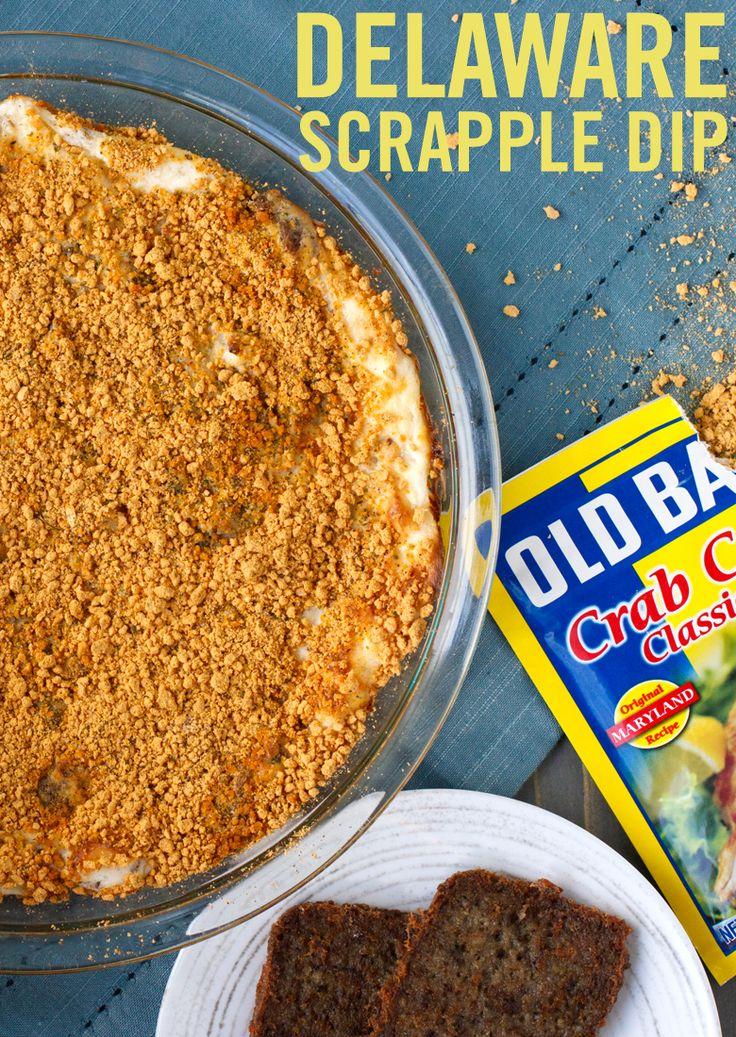 Delaware scrapple dip recipe food recipes food crab