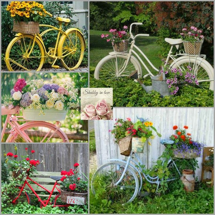 25 best vintage bicycles ideas on pinterest look for Bike decorating ideas