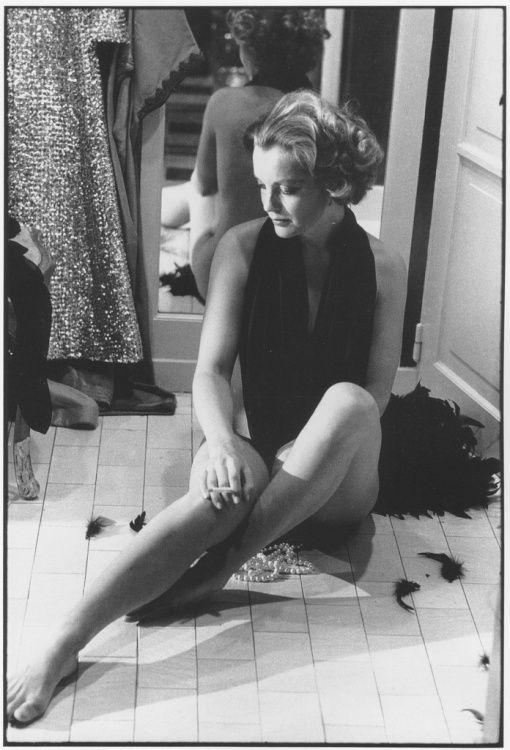 Portrait of Romy Schneider by Giancarlo Botti, 1974