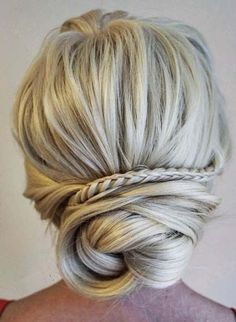 44 Pretty Bridal Updo Hairstyles Ideas for 2018 Ideas Of formal Updo Hairstyles ...,  #Bridal...