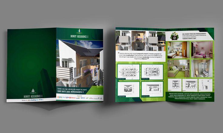 Bifold brochure for andi wijaya group