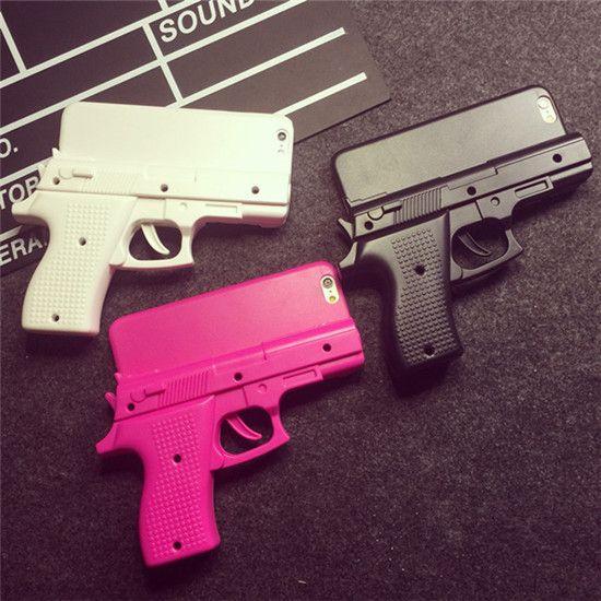 Schwarzpulver Pistole Sicherheitskontrolle Handyhülle für iPhone 6 - spitzekarte.com