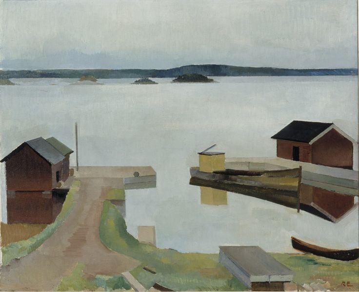 Ragnar Ekelund, Kangasniemen Kirkkoranta. 1922