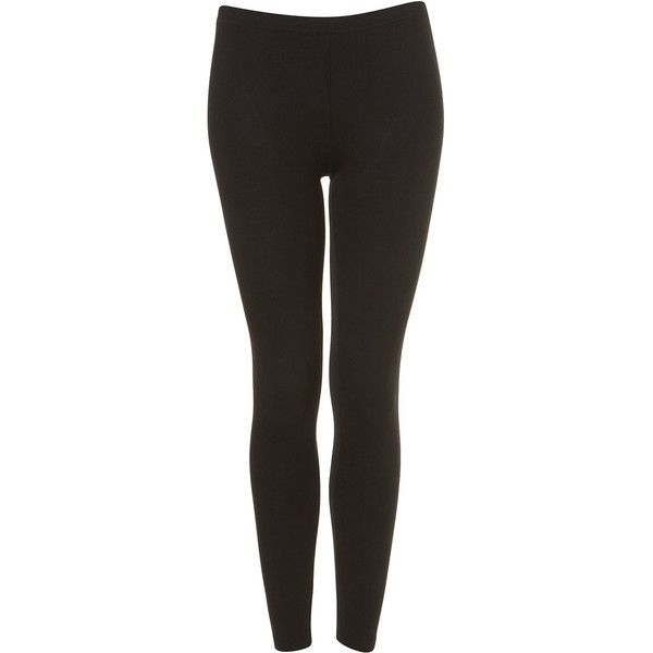 TOPSHOP Ankle Leggings ($20) found on Polyvore