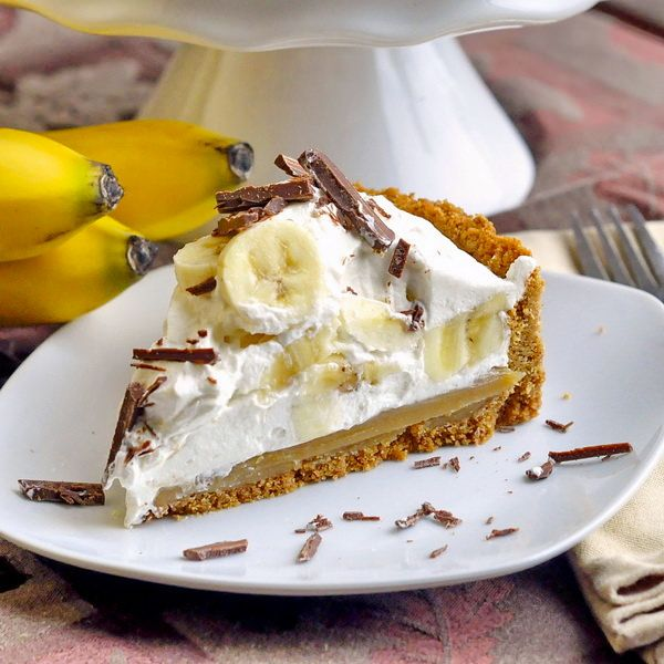 Here's my take on a classic Banoffee Pie combining a thick toffee layer with bananas and cream on a cookie crumb crust. This dessert pie seems to have escaped the notice of North Americans but it is incredibly popular in the UK, Australia and even India.