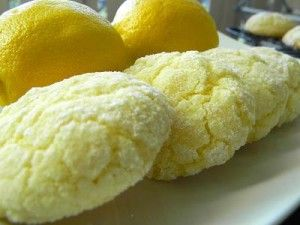 Easy Dessert Recipe for Lemon Crinkle Cookies
