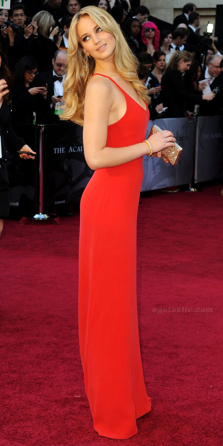 First time I saw Jennifer Lawrence was  in this Calvin Klein at the Oscars (2011)    Now you know why I want to see The Hunger Games at Midnight?? lol