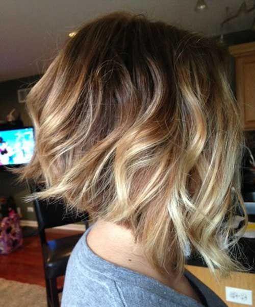 Inverted-Wavy-Bob-Hair » New Medium Hairstyles
