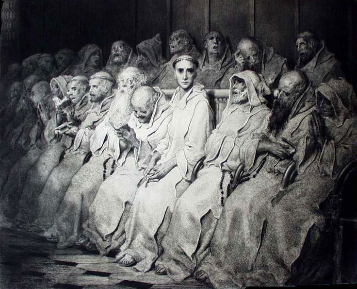"CountStGermain — ""the neophyte"" by gustave dore"