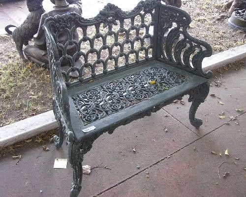 Victorian Medley Outdoor Metal Bench