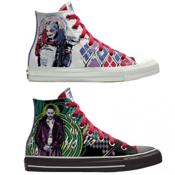 Converse Custom Chuck Taylor Suicide Squad High-Top Shoes