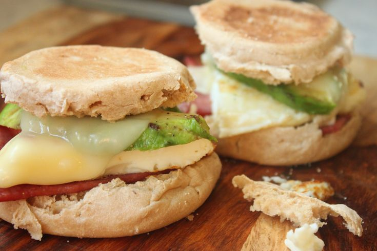 Avocado and Turkey Bacon Breakfast Sandwiches are healthy and packed full of the protein and omegas you'll need to keep your energy going all day.