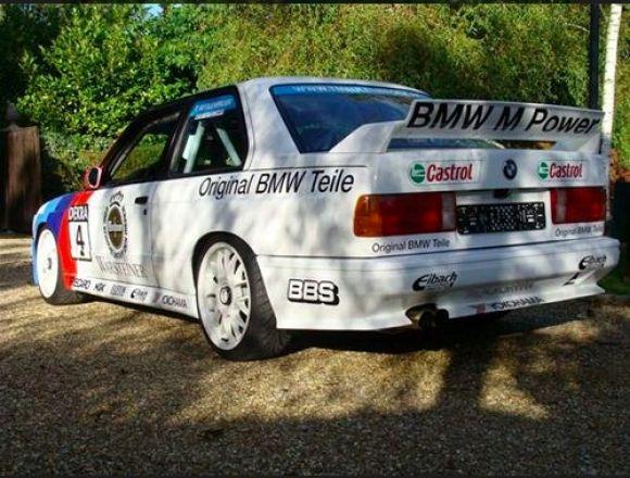 1988 BMW M3 E30 DTM Race Car For Sale Rear