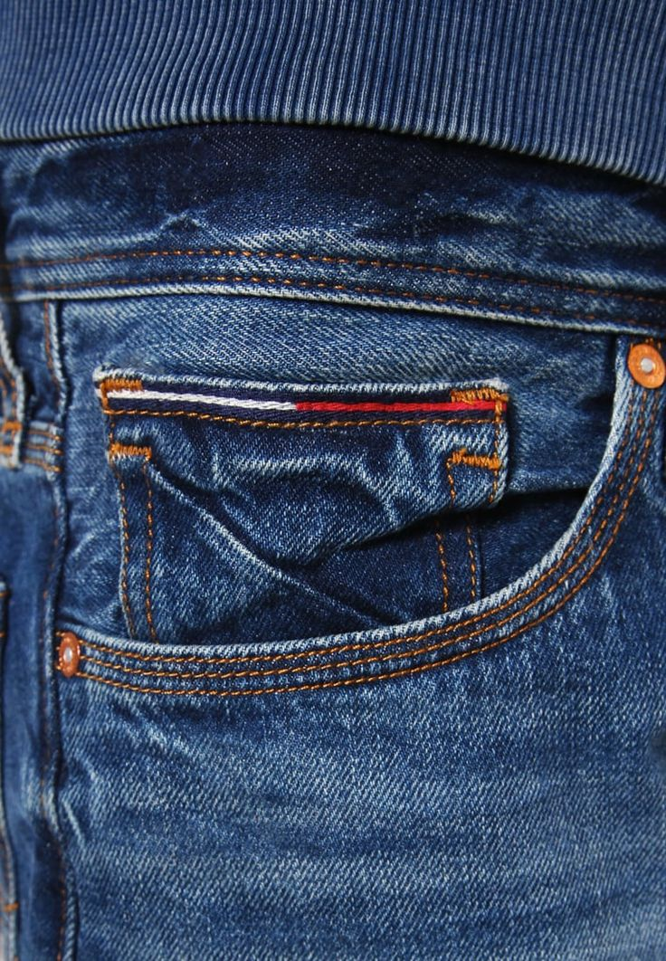 Hilfiger Denim STRAIGHT RYAN - Straight leg jeans - blue denim - Zalando.co.uk
