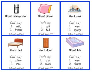 Don't Say It Game - A Different Vocabulary/Language Activity!
