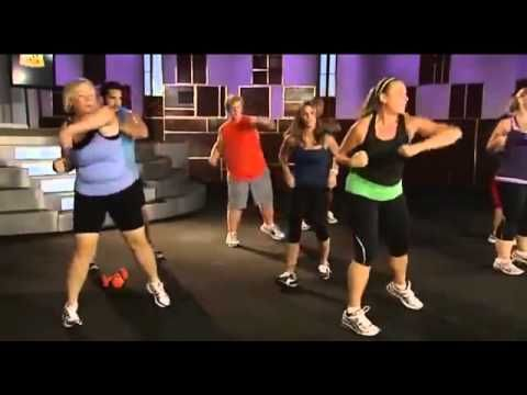 1 hour workout video, with Jillian Michaels and Biggest Loser.