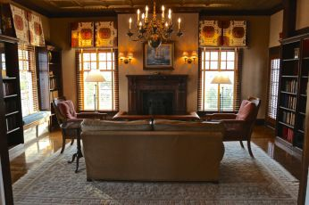The library at the Chatham Bars Inn on Cape Cod. Great New England summer hotel with spa.