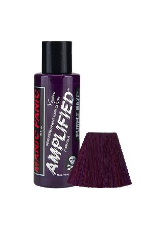 Manic Panic Purple Haze Amplified Hair Dye - Size: One Size Manic Panic hair colour is the best of its kind. Made from guaranteed vegan and PPD free superior ingredients and never tested on animals. Manic Panics Amplified Hair Color is stronger and longer last http://www.MightGet.com/february-2017-3/manic-panic-purple-haze-amplified-hair-dye--size-one-size.asp