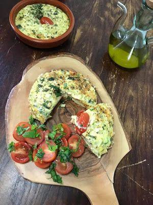 GATIM, MANCAM, SAVURAM: Tortilla cu zucchini la cuptor