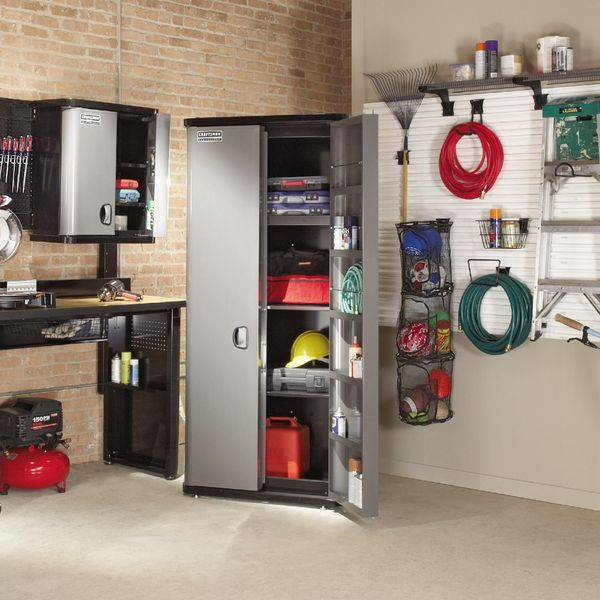 Craftsman floor cabinet professional storage solutions for Platinum garage doors