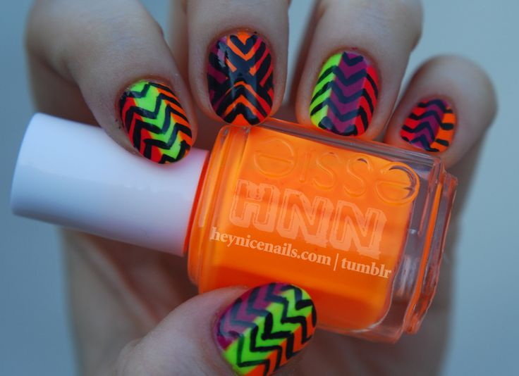 139 best Funky Nails images on Pinterest | Nail design, Nail ...