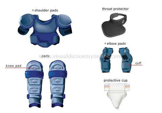 ice hockey player gear