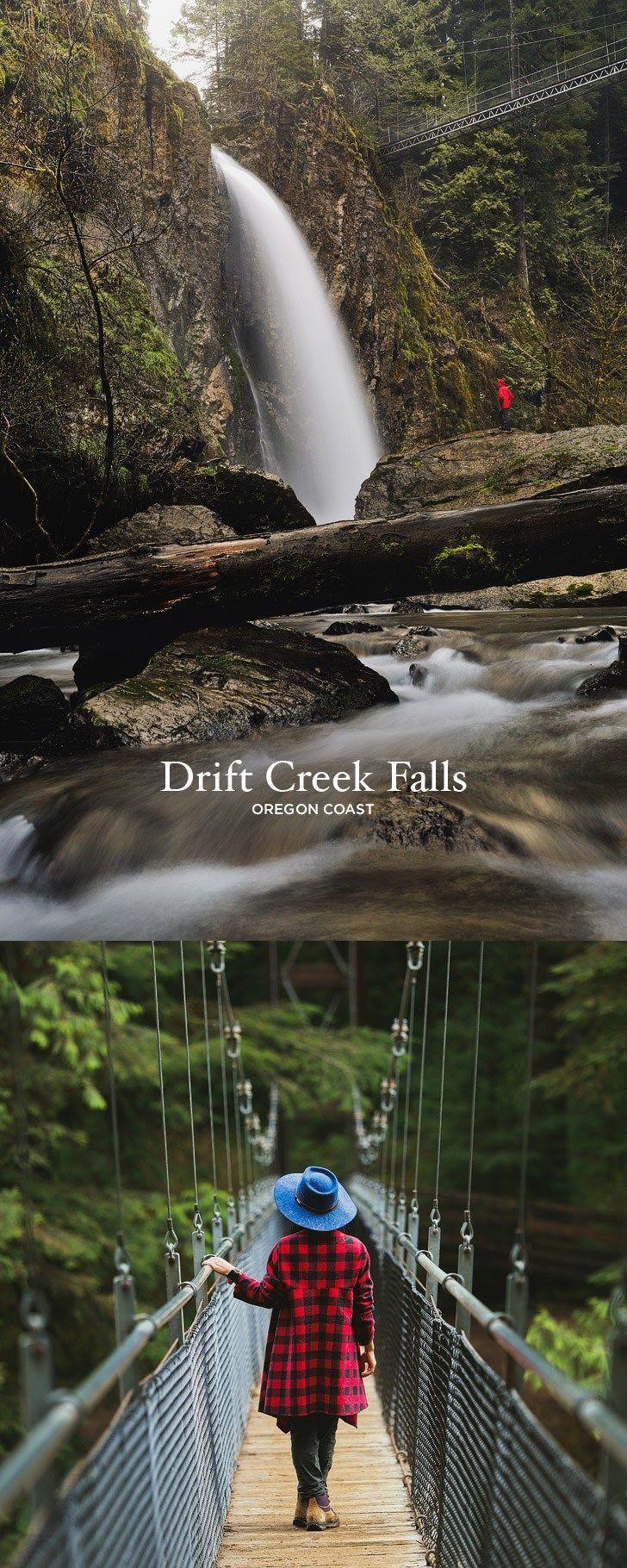 Amazing Hike on the Oregon Coast - Photo Guide to Drift Creek Falls Hike, Lincoln City #oregon #hiking #hikes #traveloregon #pnw // localadventurer.com