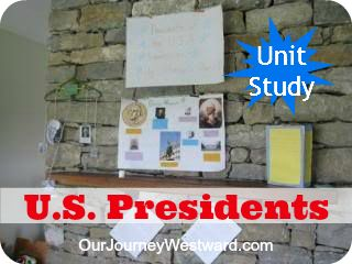United States Presidents Unit Study with Project-Based Learning Activities